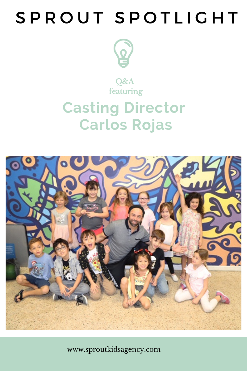 Sprout Spotlight: An inside look with Top Miami Casting Director Carlos Rojas of Universal Casting Miami