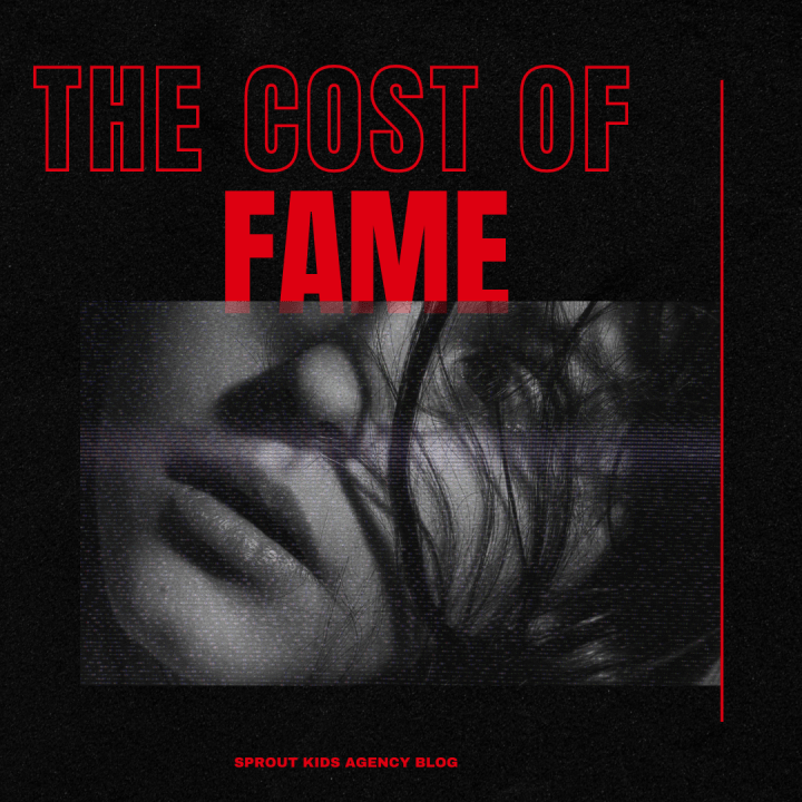 The cost of fame.